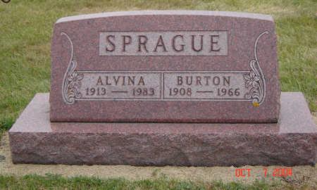 MOSER SPRAGUE, ALVINA - Delaware County, Iowa | ALVINA MOSER SPRAGUE