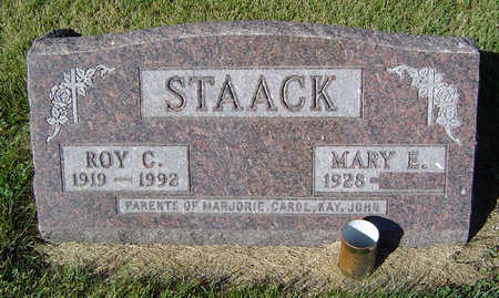 STAACK, MARY E. - Delaware County, Iowa | MARY E. STAACK