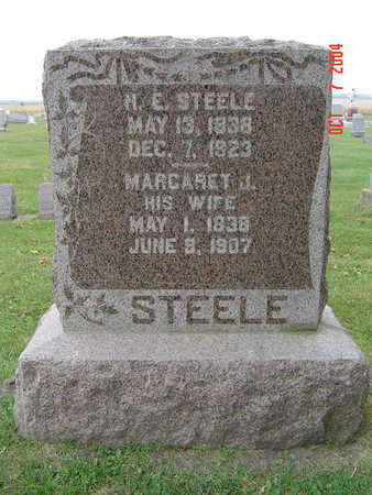 SEWARD STEELE, MARGARET J. - Delaware County, Iowa | MARGARET J. SEWARD STEELE