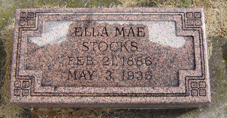STOCKS, ELLA MAE - Delaware County, Iowa | ELLA MAE STOCKS