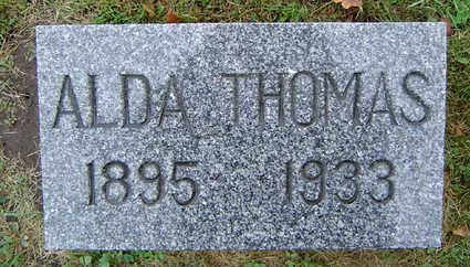 THOMAS, ALDA S. - Delaware County, Iowa | ALDA S. THOMAS