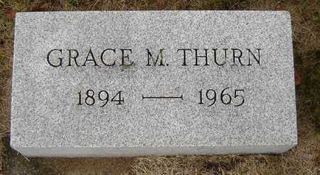 THURN, GRACE M. - Delaware County, Iowa | GRACE M. THURN