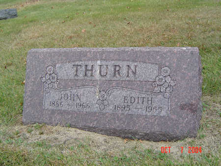 THURN, EDITH - Delaware County, Iowa | EDITH THURN