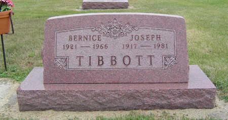 TIBBBOTT, BERNICE - Delaware County, Iowa | BERNICE TIBBBOTT