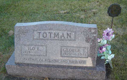 TOTMAN, GEORGE E. - Delaware County, Iowa | GEORGE E. TOTMAN