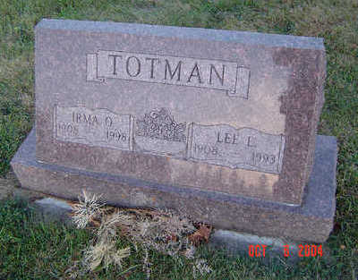 TOTMAN, LEE L. - Delaware County, Iowa | LEE L. TOTMAN