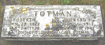TOTMAN, HOWARD F. - Delaware County, Iowa | HOWARD F. TOTMAN