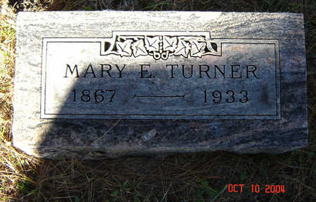 TURNER, MARY E. - Delaware County, Iowa | MARY E. TURNER