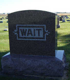WAIT, JAMES S. - Delaware County, Iowa | JAMES S. WAIT