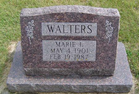 WALTERS, MARIE I. - Delaware County, Iowa | MARIE I. WALTERS