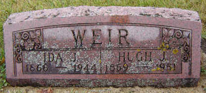 WEIR, HUGH J. - Delaware County, Iowa | HUGH J. WEIR