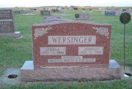 WERSINGER, JOHNNY - Delaware County, Iowa | JOHNNY WERSINGER