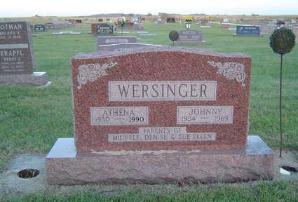 HAMLETT WERSINGER, ATHENA - Delaware County, Iowa | ATHENA HAMLETT WERSINGER