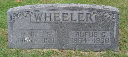 WHEELER, MINNIE S. - Delaware County, Iowa | MINNIE S. WHEELER