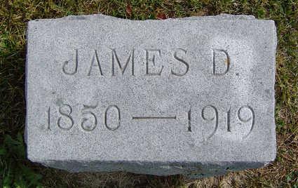 WHIPPLE, JAMES D. - Delaware County, Iowa | JAMES D. WHIPPLE