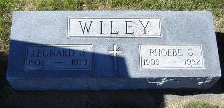 WILEY, PHOEBE G. - Delaware County, Iowa | PHOEBE G. WILEY