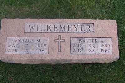 WILKEMEYER, WALTER AUGUST - Delaware County, Iowa | WALTER AUGUST WILKEMEYER