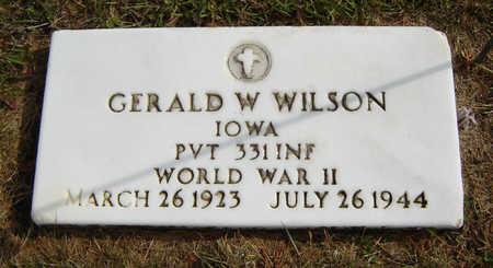 WILSON, GERALD W. - Delaware County, Iowa | GERALD W. WILSON
