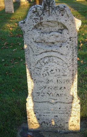 WINSOR, JOHN WARNER - Delaware County, Iowa | JOHN WARNER WINSOR