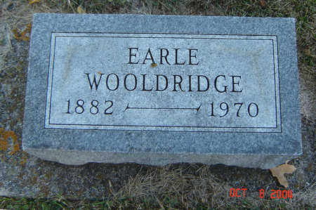 WOOLDRIDGE, EARLE - Delaware County, Iowa | EARLE WOOLDRIDGE