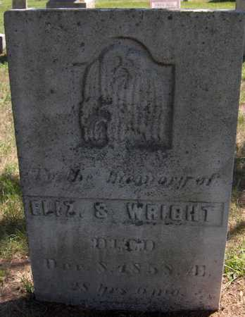 WRIGHT, ELIZABETH S. - Delaware County, Iowa | ELIZABETH S. WRIGHT