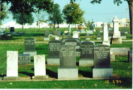 YOUNG, FAMILY PLOT - Delaware County, Iowa | FAMILY PLOT YOUNG