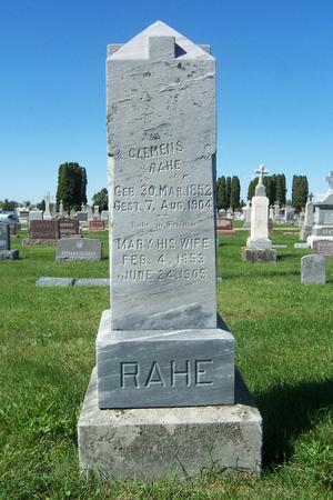 SCHEMMEL RAHE, MARY - Delaware County, Iowa | MARY SCHEMMEL RAHE