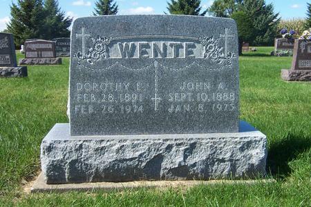 LANGEL WENTE, DOROTHY E. - Delaware County, Iowa | DOROTHY E. LANGEL WENTE