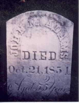 ADAMS, JOHN M - Des Moines County, Iowa | JOHN M ADAMS