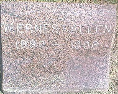 ALLEN, W. ERNEST - Des Moines County, Iowa | W. ERNEST ALLEN