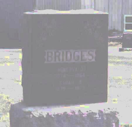 BRIDGES, MINERVA J. - Des Moines County, Iowa | MINERVA J. BRIDGES