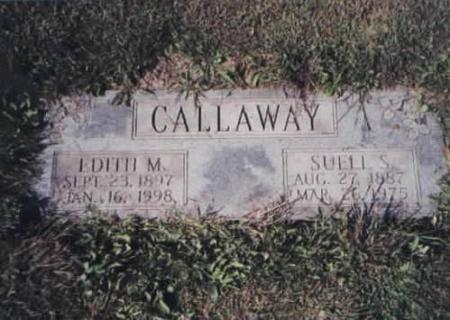 CALLAWAY, EDITH M. AND SUELL S. - Des Moines County, Iowa | EDITH M. AND SUELL S. CALLAWAY