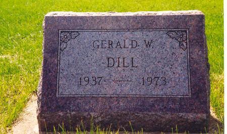 DILL, GERALD W. - Des Moines County, Iowa | GERALD W. DILL