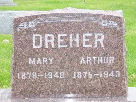 DREHER, ARTHUR D. - Des Moines County, Iowa | ARTHUR D. DREHER