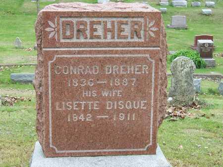 DREHER, CONRAD - Des Moines County, Iowa | CONRAD DREHER