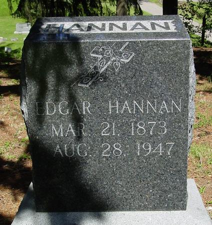 HANNAN, EDGAR - Des Moines County, Iowa | EDGAR HANNAN