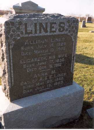 BISHOP LINES, ELIZABETH - Des Moines County, Iowa | ELIZABETH BISHOP LINES