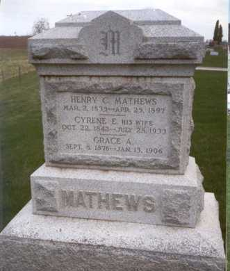 MATHEWS, HENRY CLAY - Des Moines County, Iowa | HENRY CLAY MATHEWS