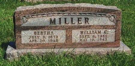 MILLER, WILLIAM - Des Moines County, Iowa | WILLIAM MILLER