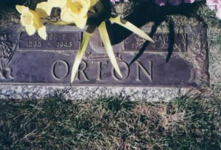 ORTON, ROGER AND CLARA - Des Moines County, Iowa   ROGER AND CLARA ORTON