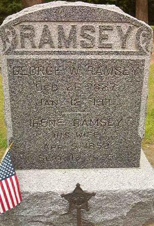 RAMSEY, GEORGE W. - Des Moines County, Iowa | GEORGE W. RAMSEY