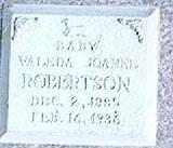 ROBERTSON, VALEDA JOANNE - Des Moines County, Iowa | VALEDA JOANNE ROBERTSON