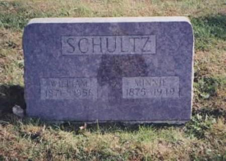 SCHULTZ, WILLIAM AND MINNIE - Des Moines County, Iowa | WILLIAM AND MINNIE SCHULTZ