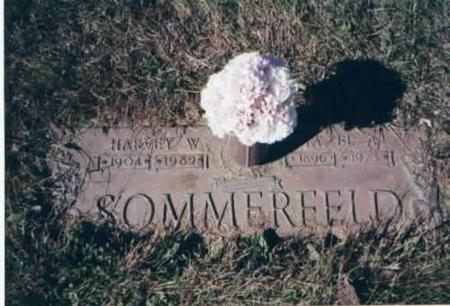 SOMMERFELD, HARVEY AND HAZEL - Des Moines County, Iowa | HARVEY AND HAZEL SOMMERFELD