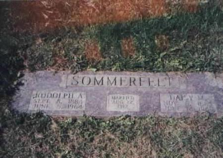 SOMMERFELT, RUDOLPH A. AND DAISY M. - Des Moines County, Iowa | RUDOLPH A. AND DAISY M. SOMMERFELT