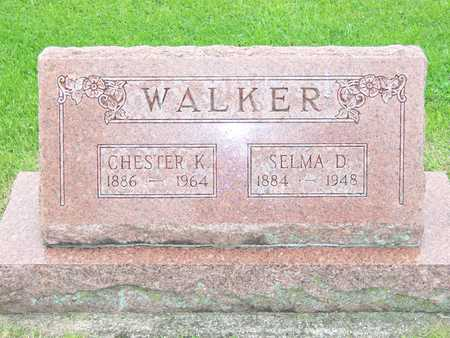 WALKER, SELMA D. - Des Moines County, Iowa | SELMA D. WALKER