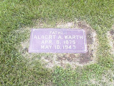 WARTH, ALBERT A. - Des Moines County, Iowa | ALBERT A. WARTH