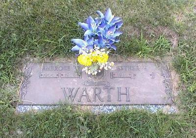 WARTH, ESTHER MARIE - Des Moines County, Iowa | ESTHER MARIE WARTH