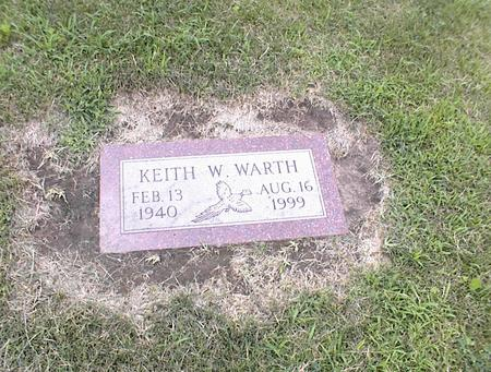 WARTH, KEITH W. - Des Moines County, Iowa | KEITH W. WARTH