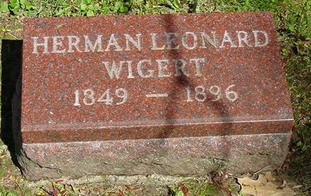 WIGERT, HERMAN LEONARD - Des Moines County, Iowa | HERMAN LEONARD WIGERT